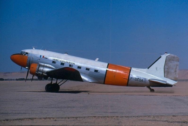 DC3 F-GEOA Jacques Hémet