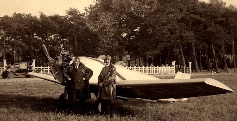 Farman 234 F-ARLV 1931 Jean Bétrancourt Aéroclub de Normandie