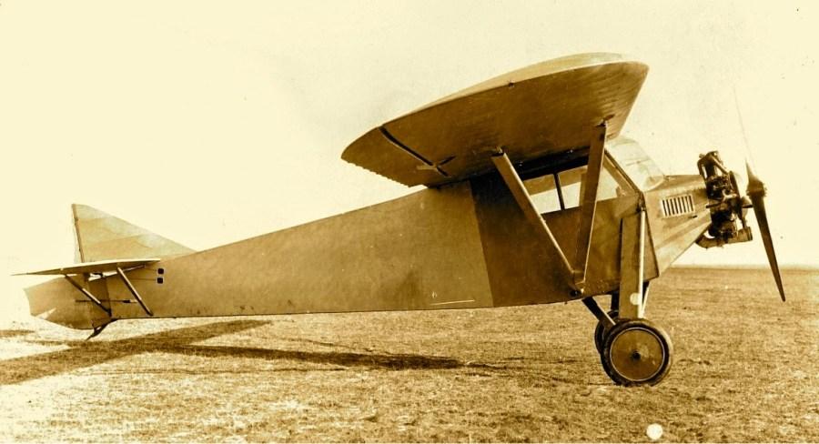Potez 36 n°01 Prototype début 1929 ©Jacques Hémet