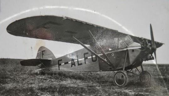 """Potez 36.13 F-ALFU de Jean Liétard c/n2249 enregistré le 28/04/31 baptisé """"Namous"""" © Marie-Agnès Balu"""