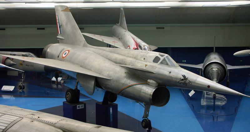 Griffon II au Musée de l'Air et de l'Espace au Bourget