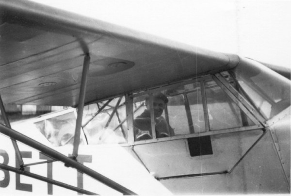 Marcel Raymondet Chef pilote de l'aéroclub de Normandie de 1948 à 1951
