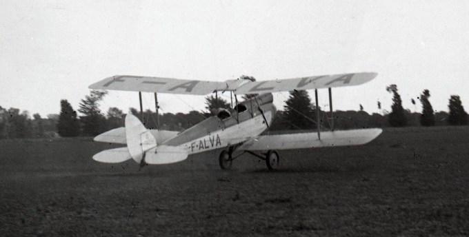 Morane Moth F-ALVA