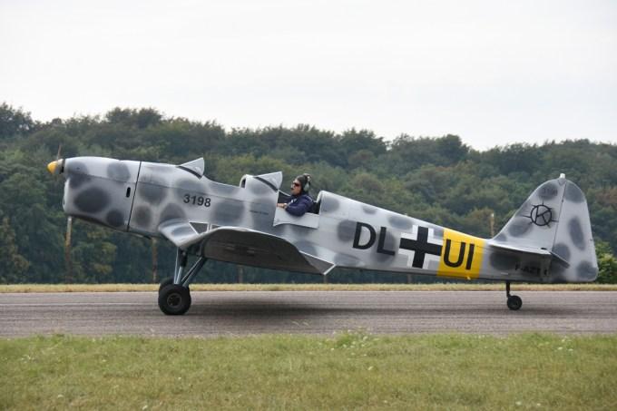 Klemm 35 F-AZTK de Thierry KELMM des ailes anciennes de Lorraine