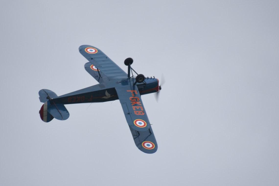 Stampe SV4 F-GEKB piloté par Patrick CANCELLI
