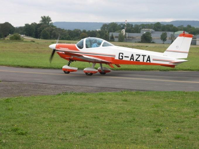 Bölkow BO 209 G-AZTA