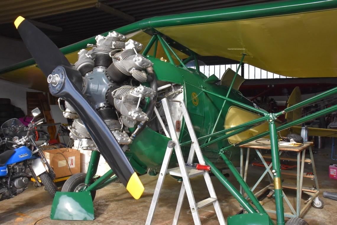 MS317 F-AZUC basé à Reims Prunay ©Xavier Cotton