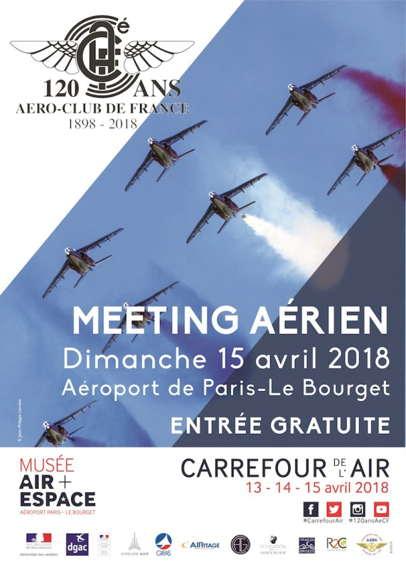 meeting aérien le Bourget 15 avril