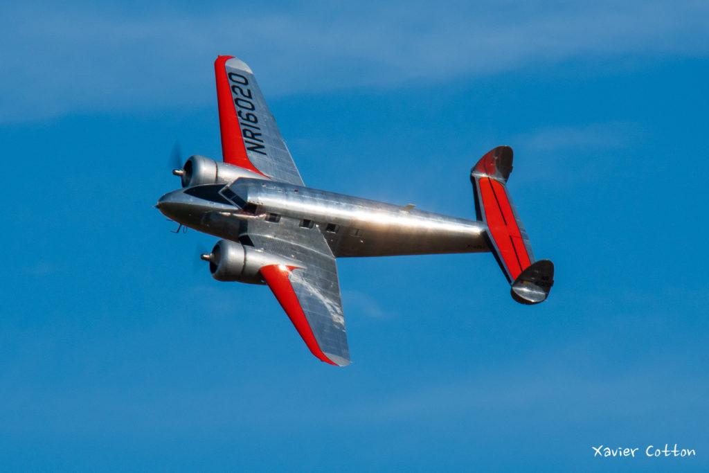 Lockheed 12A Electra F-AZLL de Bernard Chabbert ©Xavier Cotton