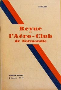Revue aéroclub de Normandie 1931