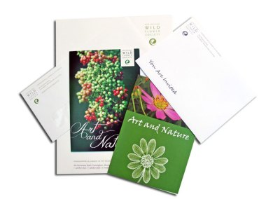 New England Wild Flower Society Stationary / Direct Mail