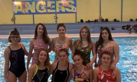 Ce week-end, deux jours de stage à Angers pour les filles d'Angers Water-Polo face à Corbeil-Essonnes.