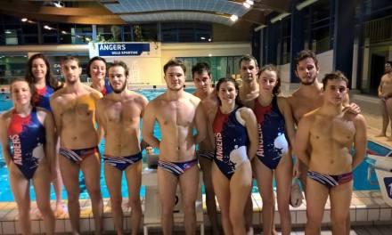 Retour sur les résultats du week-end dernier, des équipes d'Angers Water-polo.