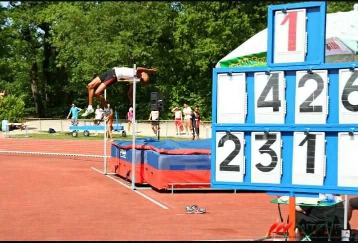 Mûrs-Erigné a plané le temps d'une soirée, à l'Hyper High Jump Festival.