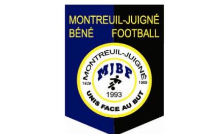 D1 (5e journée) : Match nul logique et équitable entre le Lac de Maine et Montreuil-Juigné (0-0).