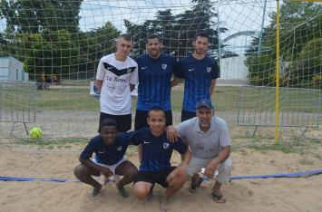 L'équipe de Chemillé Futsal