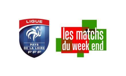 Ligue Atlantique : Retrouvez les principales affiches de la phase aller, des équipes du Maine-et-Loire.