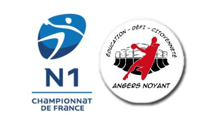 Nationale 1: Calendrier intégral de la première phase, où évoluera le club d'Angers-Noyant HBC.