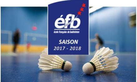 Le Badminton Angers Club, une école de formation jeunes désormais 3 étoiles !