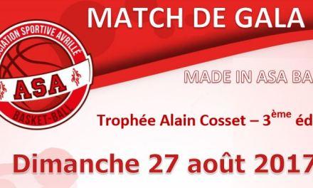 Troisième édition du Trophée Alain Cosset : UFAB 49 – AB Chartres.