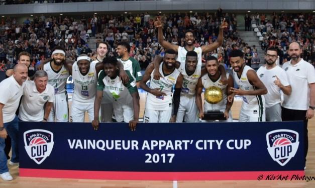 Nanterre remporte l'Appart'City Cup 2017 devant Barcelone (83-77)