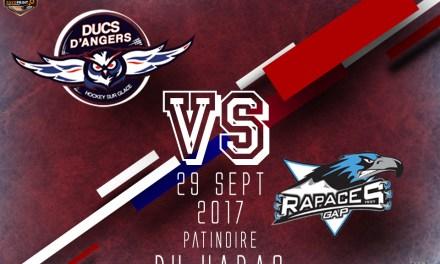 Ligue Magnus (7e journée) : Angers reçoit le leader Gapençais, ce vendredi soir !