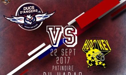 Ligue Magnus (5e journée) : Victoire obligatoire pour Angers face à Strasbourg.
