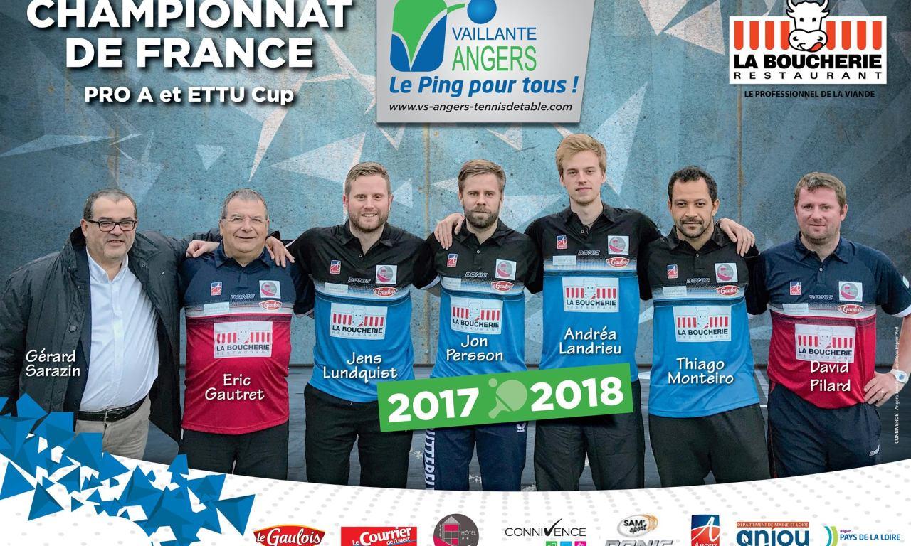 Pro A (2e journée) : La Romagne remporte le derby face à Angers la Vaillante (3-2).
