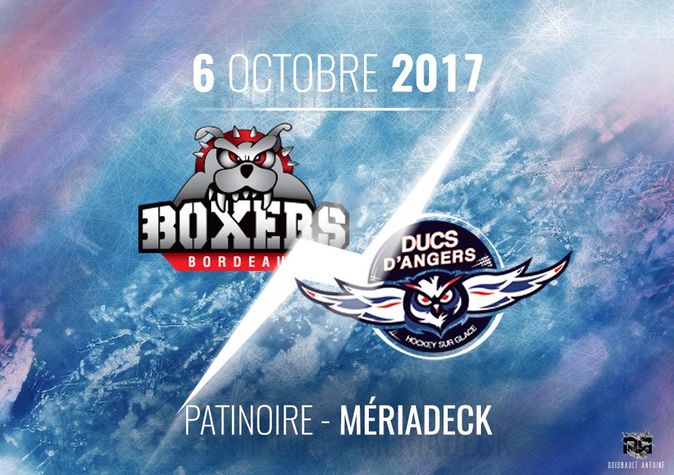 Ligue Magnus (10e journée) : Les Ducs d'Angers devront réagir chez les Boxers de Bordeaux.