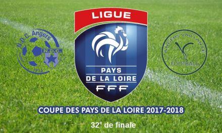 32e de finale de la Coupe Pays-de-Loire : Angers NDC – Angers Vaillante, un derby plein de promesses !