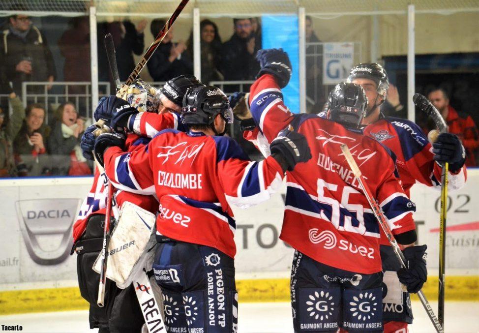 Ligue Magnus (26e journée) : Avec sa victoire sur Bordeaux, les Ducs d'Angers continuent leur renouveau (3-1).