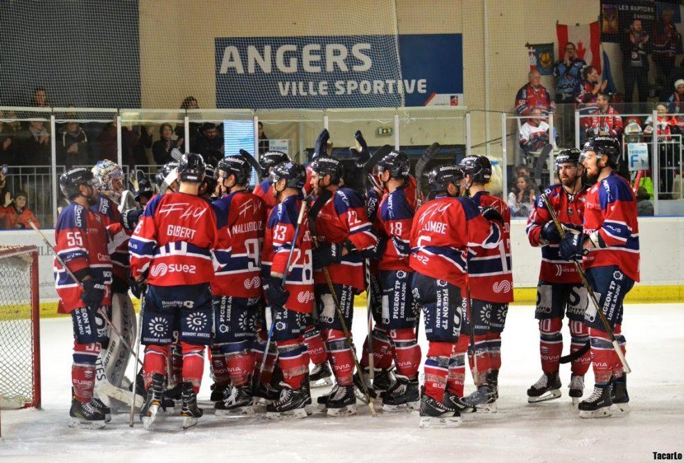 Ligue Magnus (41e journée) : Angers fait la très bonne opération en s'imposant face à Nice (6-2)