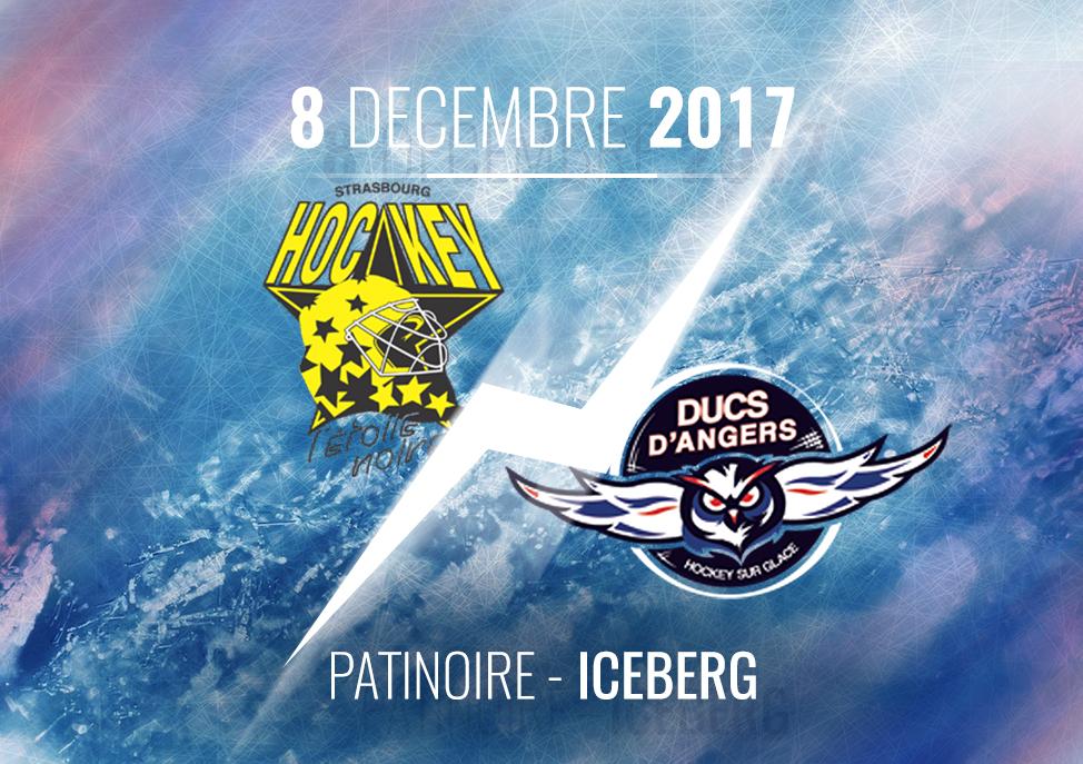 Ligue Magnus (27e journée) : Les Ducs d'Angers se déplacent chez la lanterne rouge, l'étoile Noire de Strasbourg, ce vendredi à 20h00 !