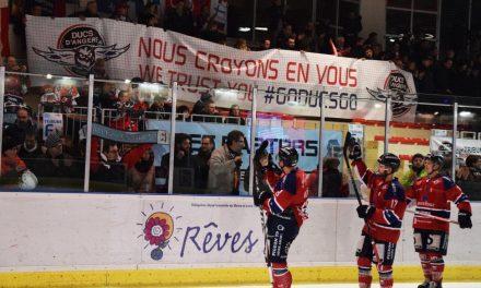 Ligue Magnus (25e journée) : Angers souffle sur le leader grenoblois (4-1).