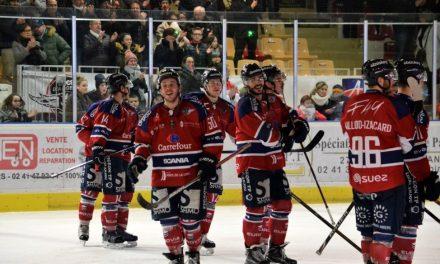 Ligue Magnus (40e journée) : Victoire à l'arrachée pour Angers à Chamonix (3-2).