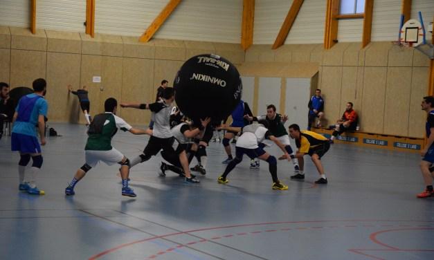 Championnat de France de KinBall : une journée complète pour l'AAEEC des Ponts-de-Cé.