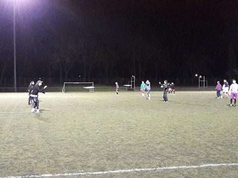 Les entraînements du mercredi se déroulent au stade Marcel Denis.