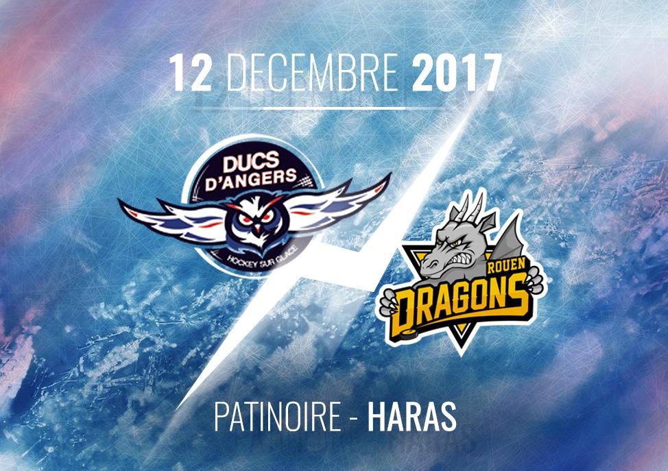 Ligue Magnus (34e journée) : Angers reçoit Rouen, son éternel rival, ce vendredi à 20h30.