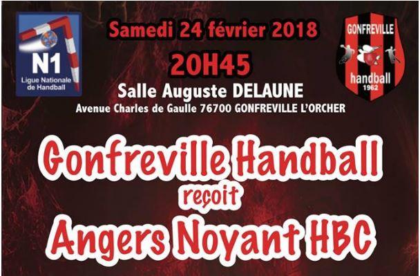 N1M (1ère journée) : Angers-Noyant se déplace à Gonfreville avec l'objectif de bien commencer ses play-offs.