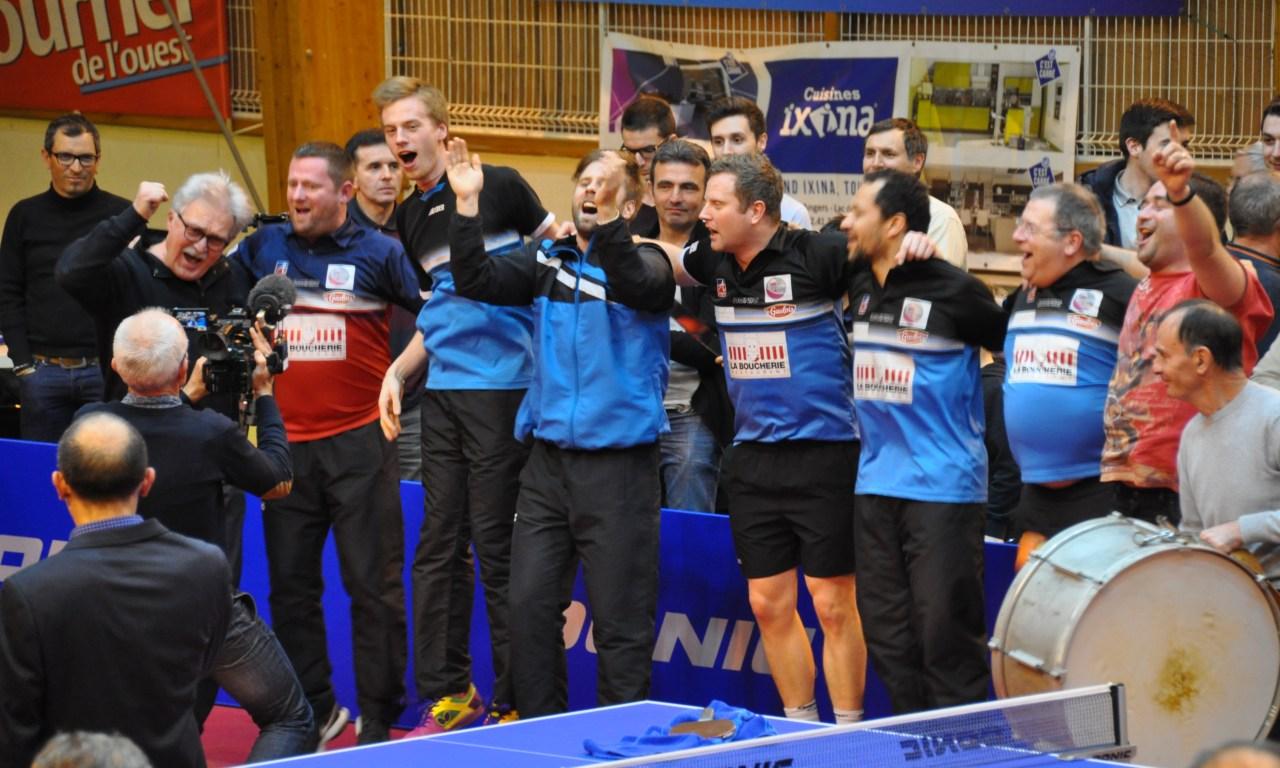 ETTU Cup (demi-finale aller). La Vaillante sur la bonne voie face à Dzialdowo (3-2).