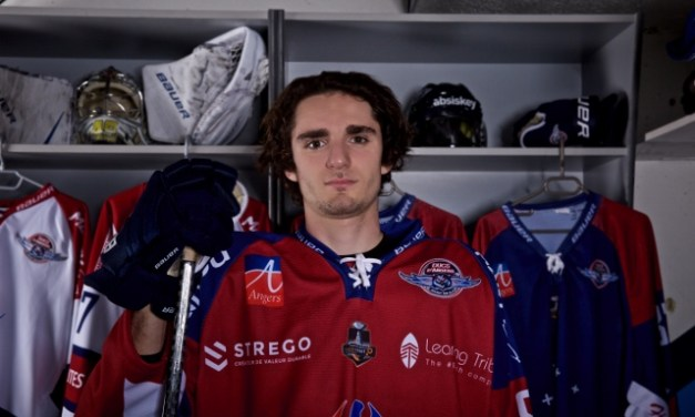 Hugo SARLIN : L'envie de devenir un joueur de hockey professionnel.