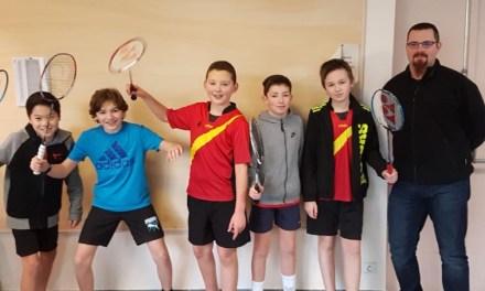Les jeunes du BAC s'imposent en championnat Interclubs!