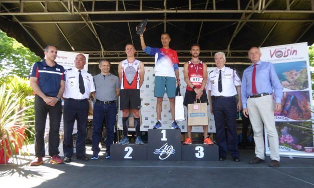 Taibi ES SAID remporte la 13e édition du championnat de France des sapeurs-pompiers de semi-marathon.