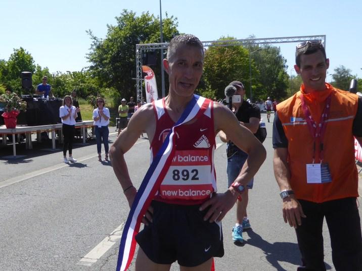 Tailbi ES SAID a remporté le semi-marathon.