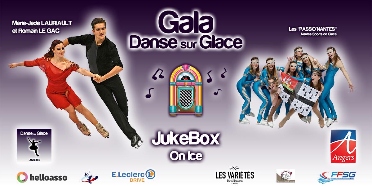 L'ASGA Danse sur glace organise son gala JukeBox On Ice à Angers.