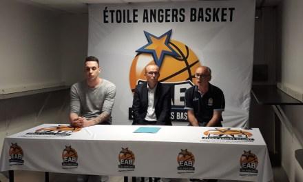 L'Étoile Angers Basket nous présente son nouveau joueur, en provenance de Denain : Antoine WALLEZ.