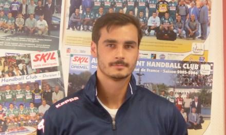 Diego MORENO signe un an à Angers SCO Handball.