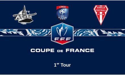 Coupe de France (1er Tour) : L'AS Avrillé se déplacera chez l'équipe mayennaise d'Athée, une équipe à sa portée.