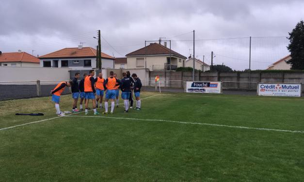 R2 (2e journée) : Saint-Pierre Montrevault s'incline à la dernière minute du match face à la Suze (b) (2-1).