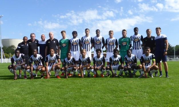 U19 National (4e journée) : Victoire méritée d'Angers SCO à Tours (1-0).